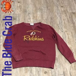 Washington Redskins NFL Pull over sweater